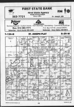 Map Image 010, Stearns County 1989